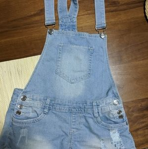 Short Over-alls
